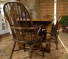 Home And Furniture Amazing Oak Windsor Chairs Of Carolina Wood Chair From DutchCrafters Amish