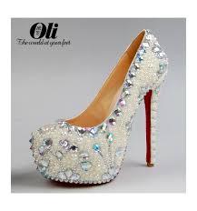 funky extravagant wedding high heels julia sla067 lilianheels