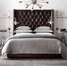 fantastic leather tufted headboard 1000 images about black leather