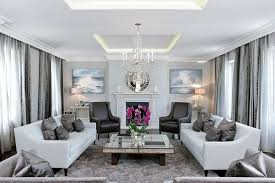 transitional living room with symmetry ideas in london 10