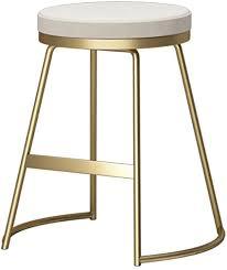 gold bar hocker kreatives wohnzimmer balkon freizeit