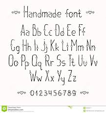 Drawn Typeface Alphabet 8
