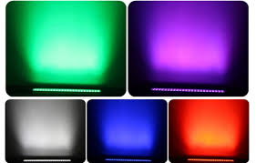 led wall wash outdoor lighting bar 4in1 with dmx for building exterior