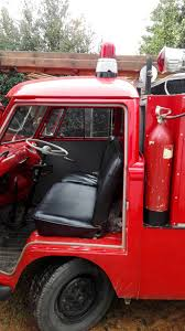 1960's, VW Split Screen Fire Truck, Red, Black Interior | Classic Kombis