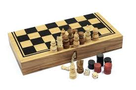 Backgammon Checkers And Chess