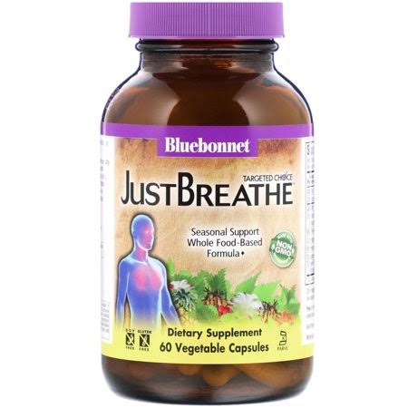 Bluebonnet Nutrition Targeted Choice Just Breathe Supplement - 60 Vegetable Capsules