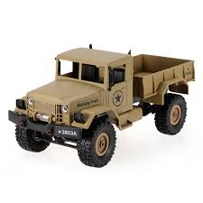 Khaki HENG LONG 3853A 1/16 2.4G 4WD Off-Road RC Military Truck Rock ... Cars Trucks Car Truck Kits Hobby Recreation Products Green1 Wpl B24 116 Rc Military Rock Crawler Army Kit In These Street Vehicles Series We Use Toy Cars Making It Easy For Nikko Toyota Tacoma Radio Control 112 Scorpion Lobo Runs M931a2 Doomsday 5 Ton Monster 66 Cargo Tractor Scale 18 British Army Truck Leyland Daf Mmlc Drops Military Review Axial Scx10 Jeep Wrangler G6 Big Squid B1 Almost Epic Rc Truck Modification Part 22 Buy Sad Remote Terrain Electric Off Road Takom Type 94 Tankette Kit Tank Wfare Albion Cx Cx22 Pinterest