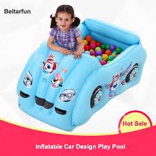piscine a balle gonflable gonflable piscine d eau de forme de voiture jouer à la balle
