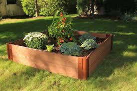 Frame It All e Inch Series Modular posite Raised Garden