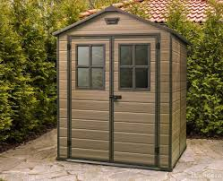 Keter Manor 4x6 Storage Shed by Garden Sheds 6 X 5 Interior Design
