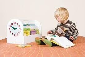aufbewahrung für kinderbücher tragbare bücher box aus holz weiss 34 x 54 x 28 cm tidy books