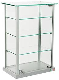 Amazon Coaster Curio Cabinet by Amazon Com Small Curio Cabinet Free Standing Glass Display Shelf