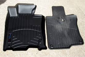 Laser Measured All Weather Floor Mats by Replaced Floor Mats With Weathertech Acurazine Acura