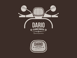 Logo Dario Classic Scooter Spareparts By Gianluca Gentile