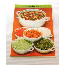 fiche cuisine fiche cuisine vintage rétro par m gaspacho