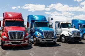 100 Commerical Trucks Las Vegas Circa June 2019 International Semi Tractor Trailer