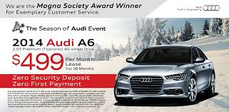 Audi A6 Lease Special