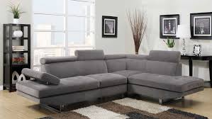 100 Modern Living Room Couches Sectional In Grey Sateen By Furniture World