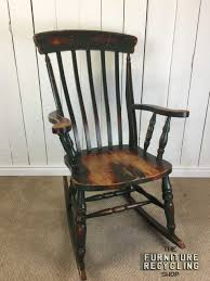 Distressed Painted Solid Wood Rocking Chair. Farmhouse Rustic Rocker ... A Yorkshire Green Painted Windsor Chair Late 18thearly 19th 19th Century Brown Painted Windsor Rocking Chair For Sale At 1stdibs 490040 Sellingantiquescouk Blackpainted Continuousarm Number Maine Rocker Early C Ash And Poplar With Mid Swedish Wakelin Linfield Rocking Chair White Midcentury Ercol Elm Childs Painted In Teal Antique Folk Finish Line 6 Legged A9502c La140258 Spray Find It Make Love