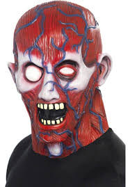 Halloween Purge Mask Uk by Next Generation Zombie V2 3d Effect Face Skin Grim Reaper Made In