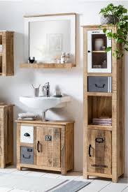 badezimmer ideen badmöbel badschrank holz rustikal