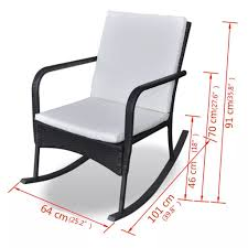 Amazon.com: Daonanba Comfortable Garden Rocking Chair ... Surprising Oversized White Rocking Chair Decorating Baby Outdoor Polywood Jefferson 3 Pc Recycled Plastic Rocker 10 Best Chairs Womans World Presidential Black 3piece Patio Set Hanover Allweather Pineapple Cay Porch Good Looking Gripper Cushions Ding Room Xiter Bamboo Adjustable Lounge Leisure Iron Alloy Waterproof Belt Parryville Classic Wicker Wood