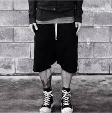 Harem Shorts Terry Fabric