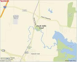 Knob Hill Trail GIS Trail Map