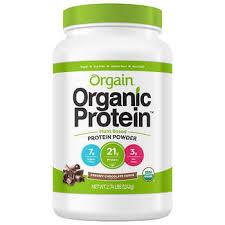 Orgain USDA Organic Plant Protein Powder 274 Pounds