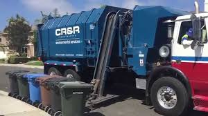Waste Management Christmas Tree Pickup Orange County by Cr U0026r Garbage Trucks Of Southern Orange County Youtube