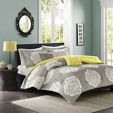 fingerhut intelligent design ciara 5 pc comforter set gray