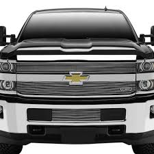 T-Rex® - Chevy Silverado 2500 HD / 3500 HD 2016-2018 2-Pc Polished ... Chevy Truck Grilles By Year Status Grill Custom Accsories Tinted Lens Led Light Bar Behind And Gmc Duramax Trex 2014 Silverado 1500 Available Now Stillen Garage 1979 Front For Sale 4027 Flickr 0713 Evolution Stainless Steel Wire Mesh Wt Seal Beam Headlights To Lamp Cversion Wiring Replacement Grille 42015 Sierra Pickup 70188 2500 Hd 3500 62018 2pc Polished By Unique Z71 Black Rigid Industries Bumper Insert 52018 Bowtie