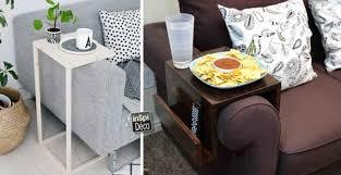 table d appoint pour canapé fabriquer une table d appoint pour le canapé 13 idées pour vous