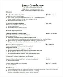 Sample Proffesional Lawyer Resume PDF Format