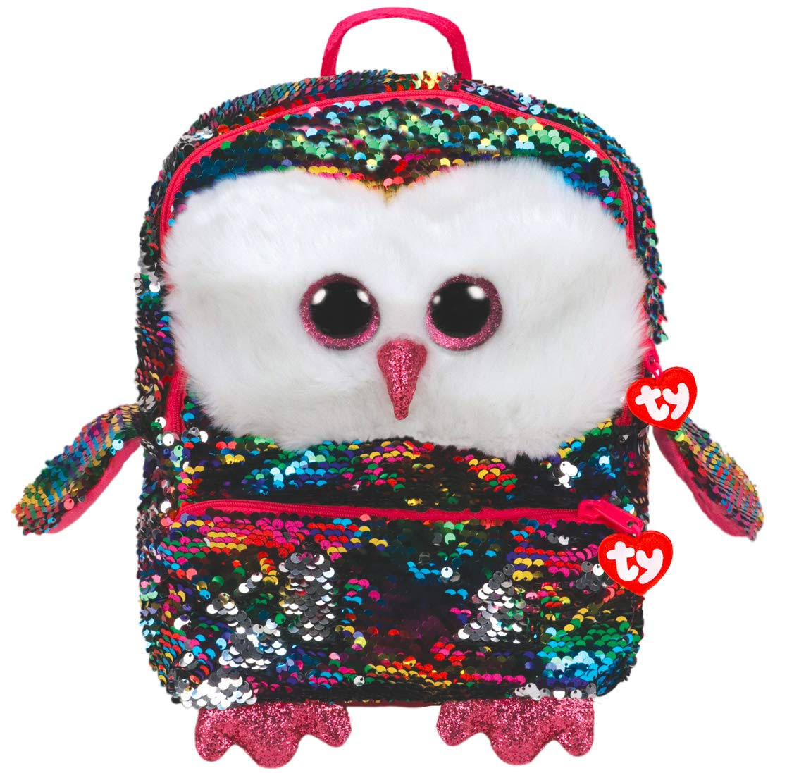 Ty Fashion Owen Owl Sequin Backpack