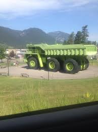 The Biggest Truck In The World (according To The Sign Beside It) - Imgur