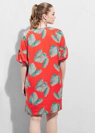 violeta by mango flowy print dress in red lyst