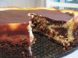 Smitten Kitchen Pumpkin Marble Cheesecake by Baking And Mistaking Brownie Mosaic Cheesecake