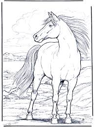 Free Printable Coloring Horse Pages 30 On For Kids With