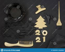 Items Where Year Is 2021 Accessories For Hair Coloring Numbers 2021 And A Golden
