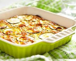 cuisine minceur az recette gratin de courgettes facile rapide