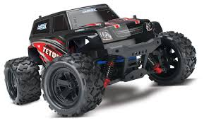 Amazon.com: Traxxas 76054 LaTrax Teton 4WD Monster Truck (1/18 Scale ...