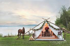 Rustic Glamping Wedding Inspiration