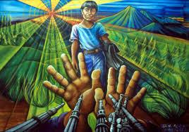 David Alfaro Siqueiros Murales La Nueva Democracia el muralismo mexicano