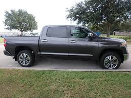 2019 New Toyota Tundra 4WD 1794 Edition CrewMax 5.5' Bed 5.7L At ...