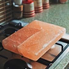 rectangular himalayan salt block by salthouse peppermongers