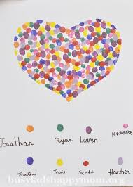 Handmade Teacher Gift Idea Fingerprint Art