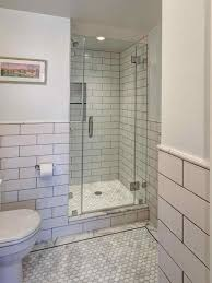 in contemporary large shower before u after a master large white