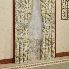 Jacobean Floral Country Curtains by 100 Jacobean Floral Lined Rod Pocket Curtains Sheer Window
