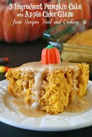 Pumpkin Cake Mix Donuts by 3 Ingredient Pumpkin Cake Recipes Food And Cooking